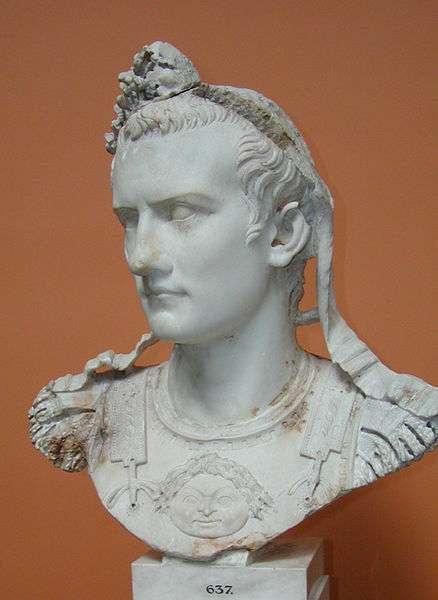 L'imperatore Gaius Caesar Caligula famoso per aver nominato senatore il suo cavallo