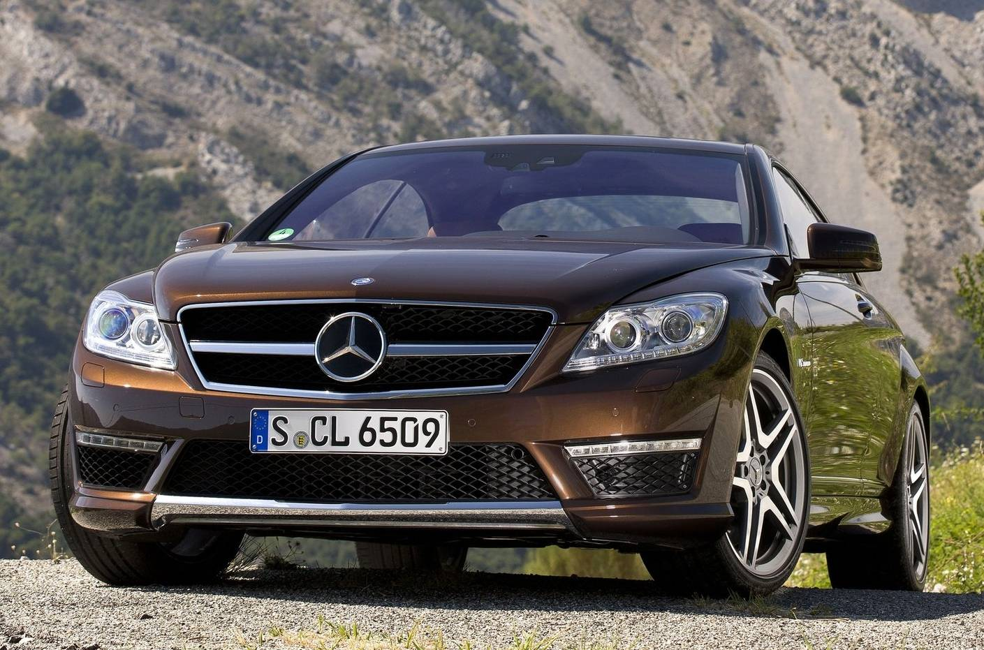 Mercedes benz cl 65 amg designo mystic brown only cars for Brown mercedes benz