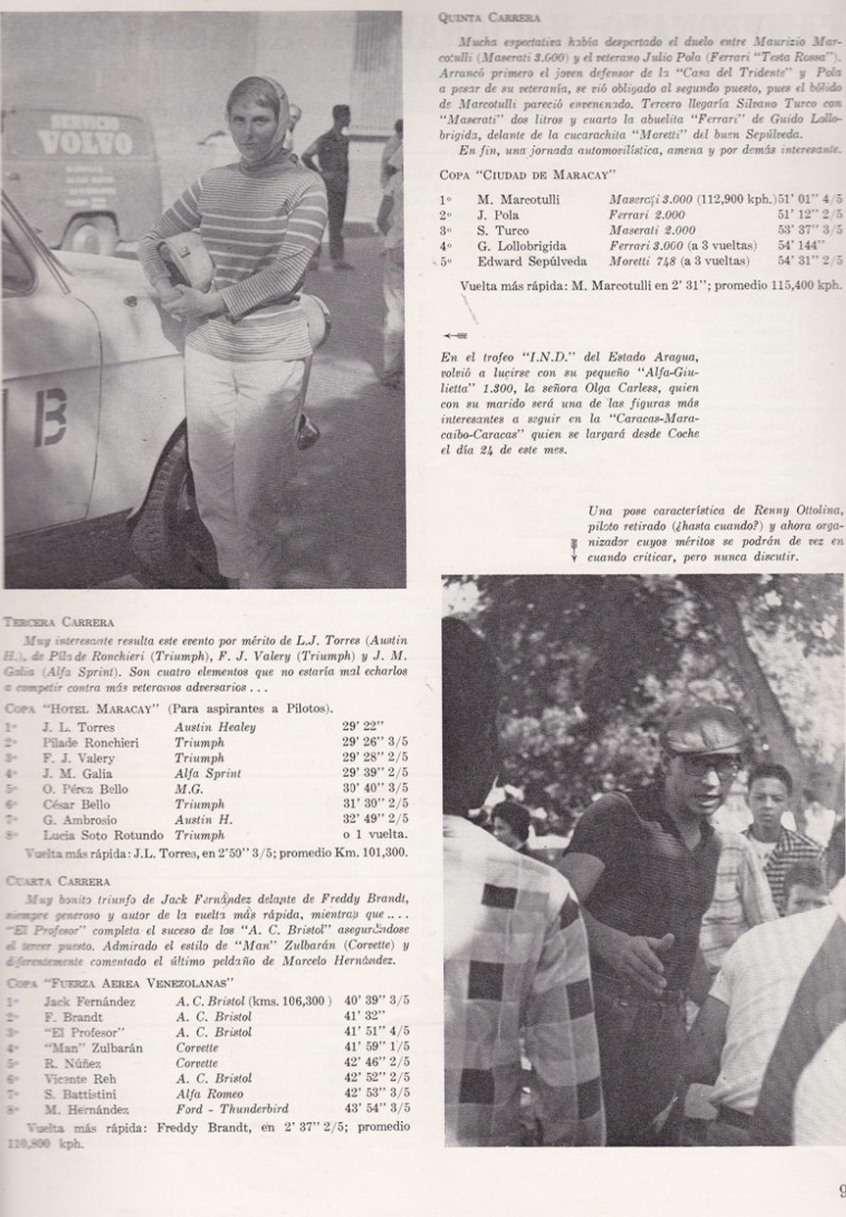 Pasion A La Velocidad Y Motores Ver Tema 1958 Circuito El Limon Circuitos Miscelaneos Maracay