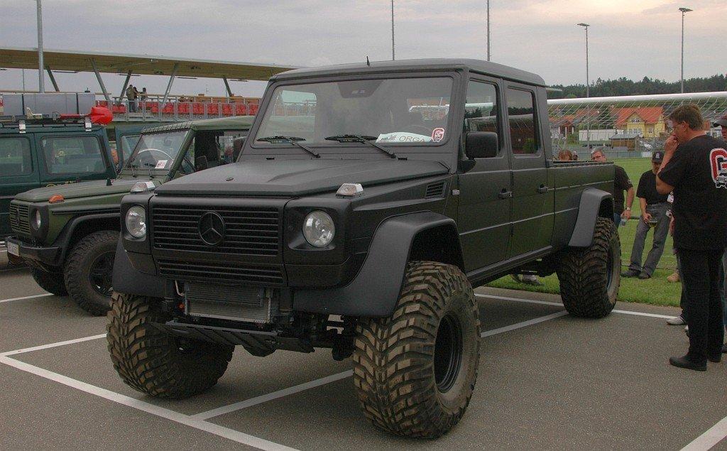 Mercedes G Full Size Pick Up By Wolf K 252 L 246 Nleges Aut 243 K